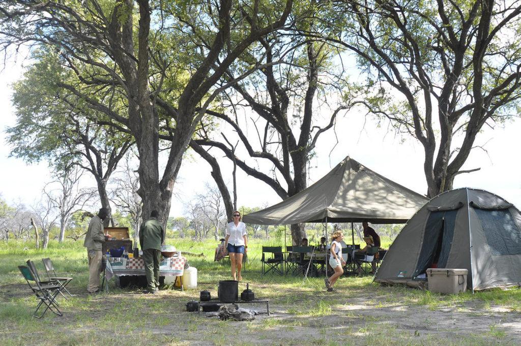 African safari Matswere campsite